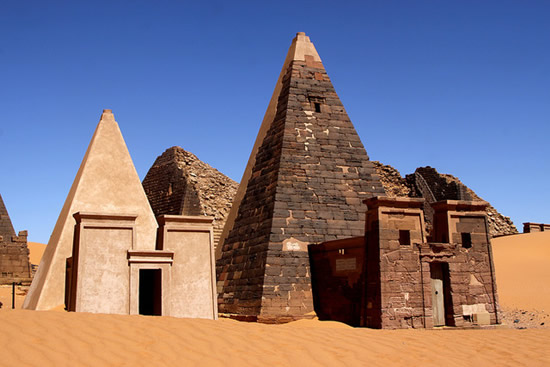 Meroe-pyramid