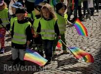 Толерантно самоубийство: В Швеция изкараха на гей-парада в Гьотеборг 120 деца от детска градина.