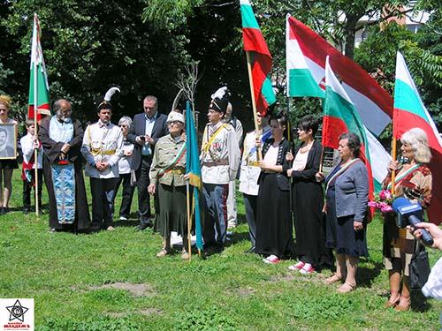 По утвърдения български войнски ритуал последва заупокоен църковен чин отслужен от негово благовейнство Георги презвитер.